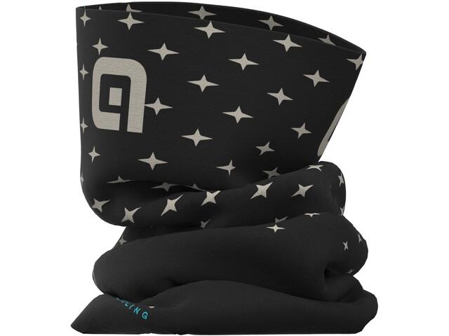 Alé Cycling Stars Tubular Headgear, black/dove grey